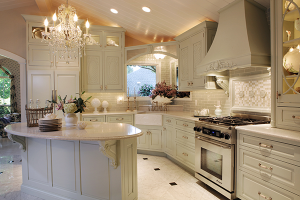 Elegant and Luxurious Kitchen Theme Idea